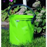 Custom Collapsible 2.6 Gallon Bucket - Lime Green