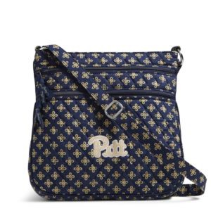 Vera Bradley Triple Zip Collegiate Hipster Bag (Pittsburgh)