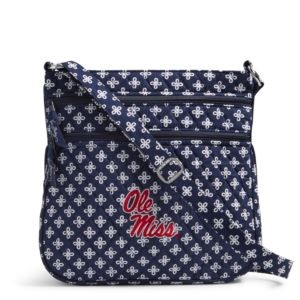 Vera Bradley Triple Zip Collegiate Hipster Bag (Mississippi)