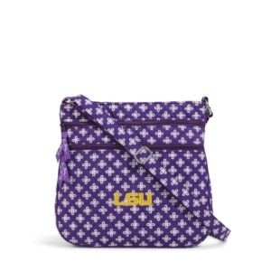 Vera Bradley Triple Zip Collegiate Hipster Bag (LSU)