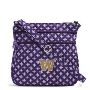 Vera Bradley Triple Zip Collegiate Hipster Bag (Washington)