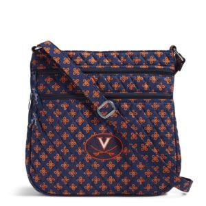 Vera Bradley Triple Zip Collegiate Hipster Bag (Virginia)