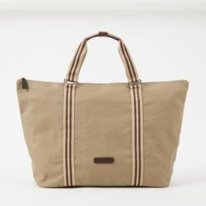 Tom Zipper Tote - Canvas - Desert