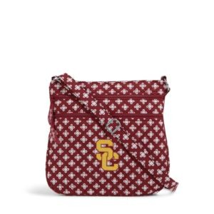 Vera Bradley Triple Zip Collegiate Hipster Bag (USC)