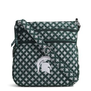 Vera Bradley Triple Zip Collegiate Hipster Bag (Michigan State)