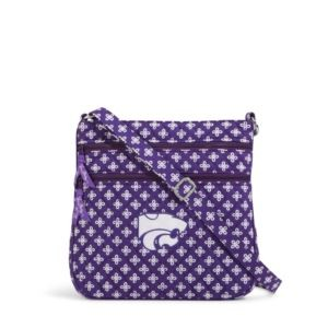 Vera Bradley Triple Zip Collegiate Hipster Bag (Kansas State)
