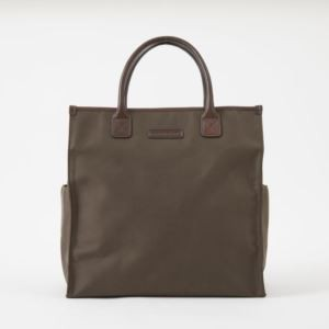 Bob Tote - Brushed Microfiber - Tobacco Brown