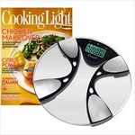 Custom Body Fat/Body Water Bath Scale & Cooking Light Subscription