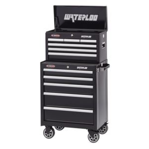 "26"" Wide 6-Drawer Tool Chest with 5-Drawer Tool Cabinet"