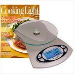 Custom Vitra Glass Platform Scale & Cooking Light Subscription