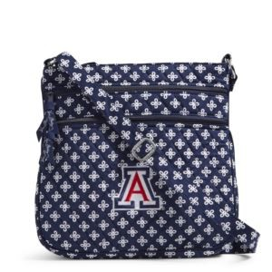 Vera Bradley Triple Zip Collegiate Hipster Bag (Arizona)