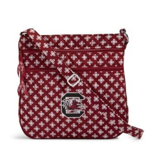Vera Bradley Triple Zip Collegiate Hipster Bag (South Carolina)
