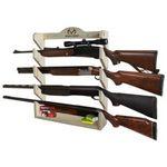 Custom REALTREE 4 Gun Pine Wall Storage Rack