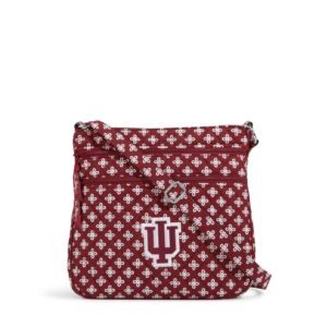 Vera Bradley Triple Zip Collegiate Hipster Bag (Indiana)