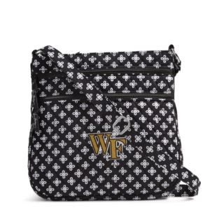 Vera Bradley Triple Zip Collegiate Hipster Bag (Wake Forest)