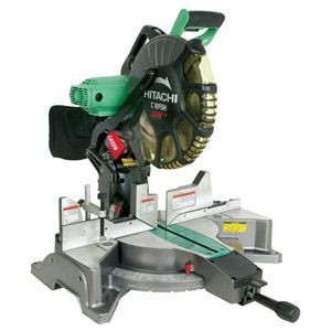 "12"" Dual Compound Miter Saw with Laser Marker"