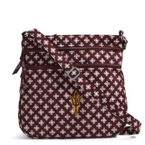 Vera Bradley Triple Zip Collegiate Hipster Bag (Arizona State)