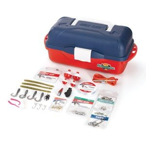 55 Piece Go Fish Tackle Box Kit