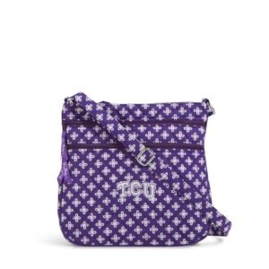 Vera Bradley Triple Zip Collegiate Hipster Bag (TCU)