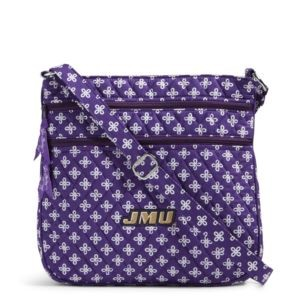 Vera Bradley Triple Zip Collegiate Hipster Bag (James Madison)