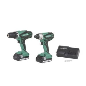 18V Lithium-ion Driver Drill & Impact Driver Combo Kit
