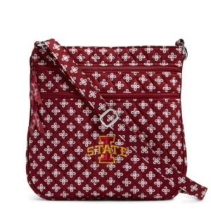 Vera Bradley Triple Zip Collegiate Hipster Bag (Iowa State)