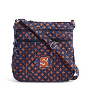 Vera Bradley Triple Zip Collegiate Hipster Bag (Syracuse)