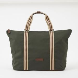Tom Zipper Tote - Canvas - Racing Green