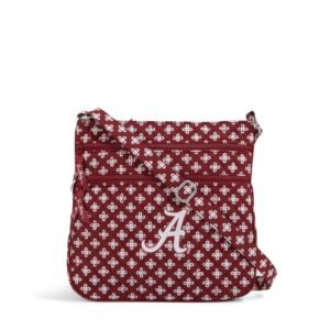 Vera Bradley Triple Zip Collegiate Hipster Bag (Alabama)