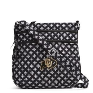 Vera Bradley Triple Zip Collegiate Hipster Bag (Colorado)