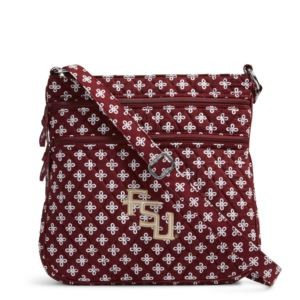 Vera Bradley Triple Zip Collegiate Hipster Bag (Florida State)