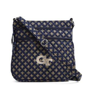 Vera Bradley Triple Zip Collegiate Hipster Bag (Georgia Tech)