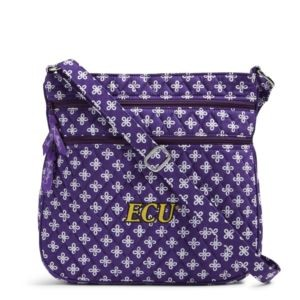 Vera Bradley Triple Zip Collegiate Hipster Bag (East Carolina)