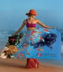 Custom Turkish Signature ColorFusion Deluxe Beach Towel