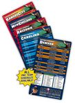 Custom 25 Mil Laminated Pro Football Sport Schedule Magnet