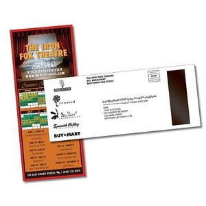 UV Coated 10 Point Postcard w/ Attached Magnet