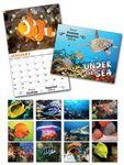 Custom Under The Sea 13 Month Custom Appointment Wall Calendar (8.5