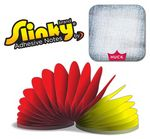 Custom Square Shape 100 Sheet Slinky Adhesive Note Pad