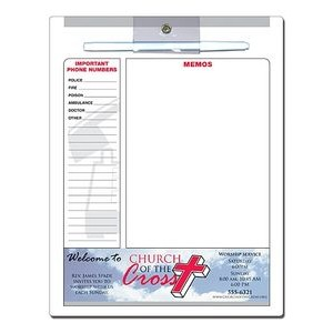 "Religious Memo Board - 8.5""x11"" Laminated - 14 Point"