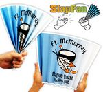 Custom 14 Pt. Laminated Paper SlapFan