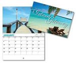 Custom Island Getaway 13 Month Mini Custom Photo Appointment Wall Calendar