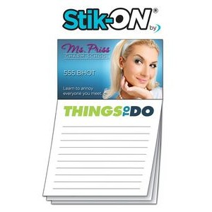 """Things To Do"" Magna-Note Stock Business Card Magnet"