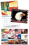 Custom Land Of The Free 13 Month Custom Appointment Wall Calendar (8.5