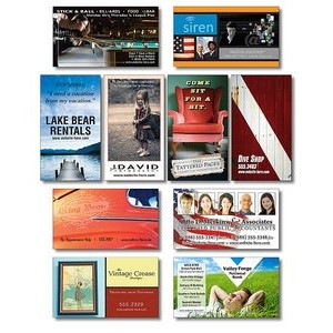 30 Mil TuffMag™ Outdoor Business Card Magnet w/Square Corners