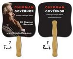 Custom Political Hand Fan - 7.375