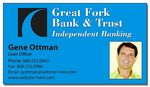 Custom 25 Mil Financial Services Business Card Magnet w/ Square Corner (3.5