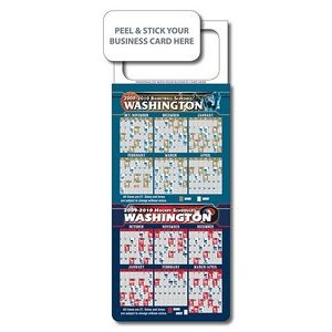 Pro-Basketball/ Hockey Combo Schedule w/ Magnetic Topper
