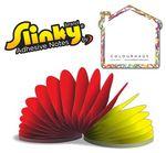Custom House Shape 50 Sheet Slinky Adhesive Note Pad