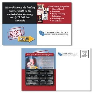 "Health Magna-Peel Postcard (8.5""x5.25"") with 3.5""x4"" Magnet"