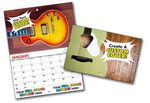 Custom Mini Custom Photo 13 Month High Gloss Appointment Wall Calendar